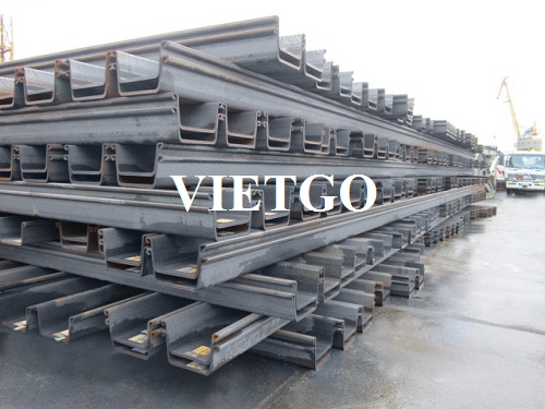 Opportunity to export steel sheet piles to Philippines market