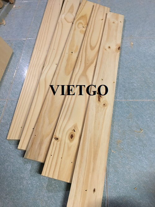 Opportunity to export 4 pine lumber containers 20ft to the Indian market