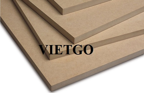 Opportunity to export MDF boards to the Indian market