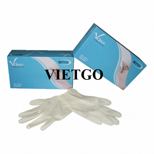 Opportunity to export medical gloves to the Indian market