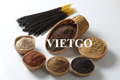 Opportunity to cooperate with Indian importer for incense powder products