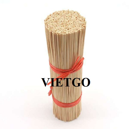 Opportunity to supply bamboo sticks for a businessman from India