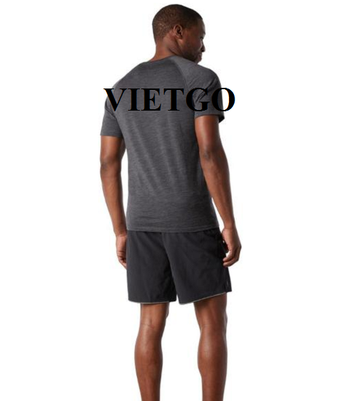 Opportunity to export T-shirt for a famous sportswear company in Germany