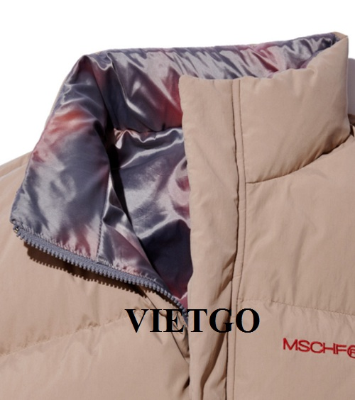 Opportunity to provide fashion vest products for a VIP guest of VIETGO to the Korean market