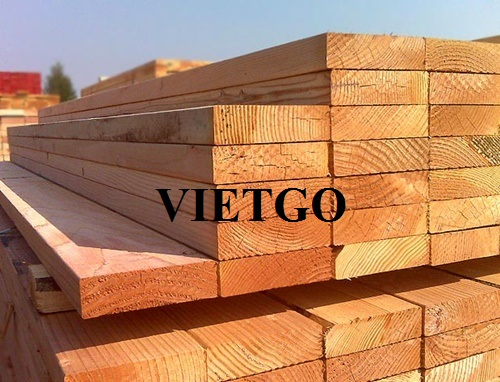 Opportunity to export 10 pine lumber containers 40'HQ every 2 weeks to the US market