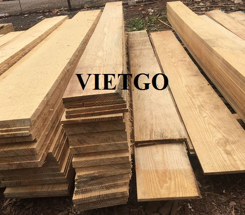Opportunity to export 5 pine lumber containers 20ft to the Indian market