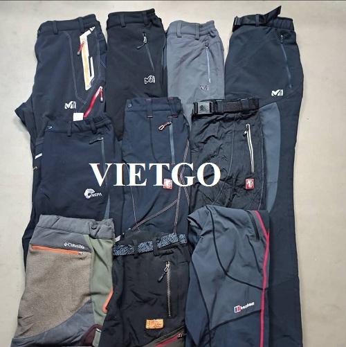 Opportunity to provide sports pants for businessmen from Iran
