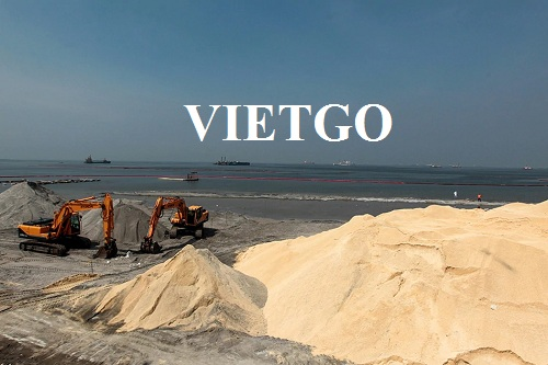 Opportunity to export Dolomite sand for a construction company in the Philippines