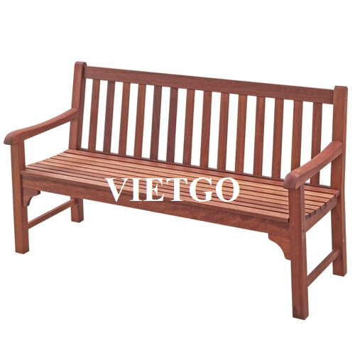 (Urgent) Opportunity to export outdoor wooden tables and chairs to the South Korean market