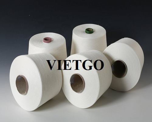 Opportunity to supply 10 containers of 20FLC yarn per month to a company in India