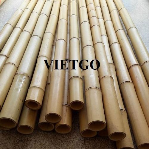 Cơ hội cung cấp 1.500 chiếc gậy tre mỗi tháng cho một doanh nghiệp tại Bồ Đào Nha
