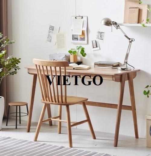 Cơ hội xuất khẩu bàn và ghế gỗ sang thị trường Hàn Quốc
