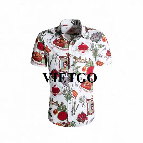 Opportunity to export dress shirt for a famous fashion brand in Ghana