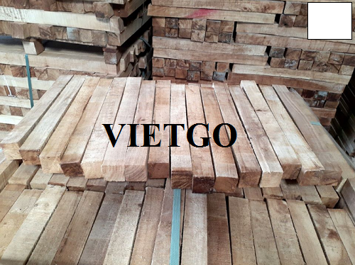 Opportunity to export 10 container 20ft of rubber timbers to the Indian market