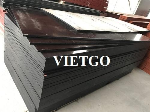 Cơ hội xuất khẩu gỗ dán phủ phim sang thị trường Trung Quốc