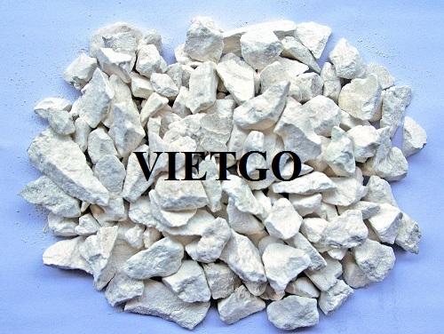 Cơ hội cung cấp 10 container 20ft đá vôi cục CaCO3 hàng tháng cho một nhà máy tại Bangladesh
