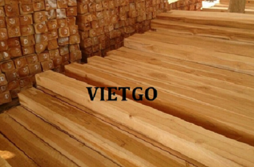 Opportunity to export teak timbers to the Indian market