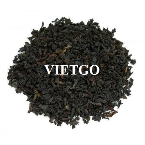 Opportunity to export monthly Black Tea to the Indian market