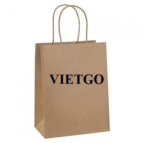 Cơ hội xuất khẩu túi giấy sang thị trường Ấn Độ