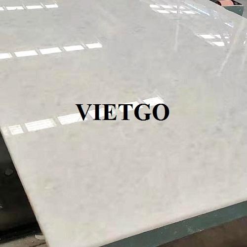 Cơ hội cung cấp từ 15 đến 20 container đá marble mỗi tháng cho vị khách hàng đến từ Iraq