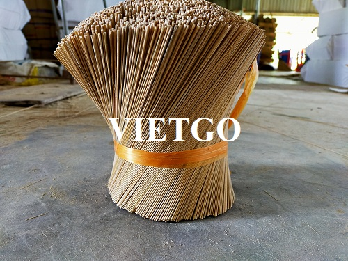 Opportunity to export 35 tons of bamboo stick every month to the Indian market