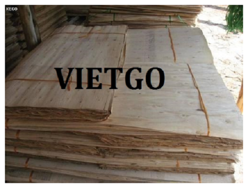 (Urgent) Opportunity to export 03 rubber wood core veneer containers 40'HC monthly to the Chinese market