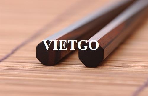 Cơ hội xuất khẩu 2.000 đôi đũa gỗ hàng tháng sang thị trường Hàn Quốc