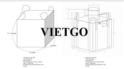 Cơ hội xuất khẩu sản phẩm túi Jumbo sang thị trường Hàn Quốc