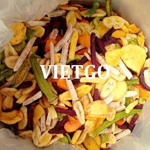 Cơ hội xuất khẩu hoa quả sấy hàng tháng sang thị trường Maroc