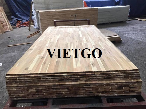 Opportunity to export acacia wood finger joint boards to Hong Kong market