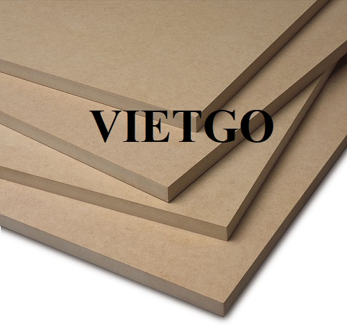 Opportunity to export MDF boards to the Korean market