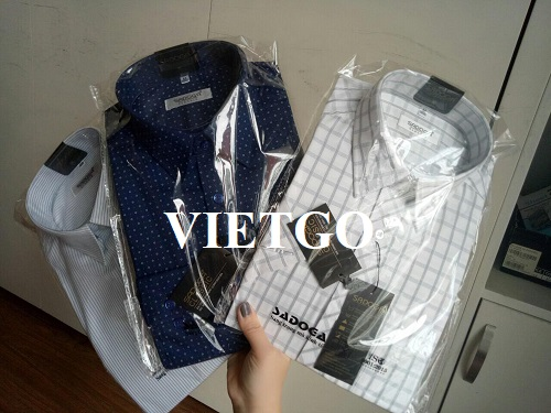 Opportunity to export shirts for a famous fashion brand in the US