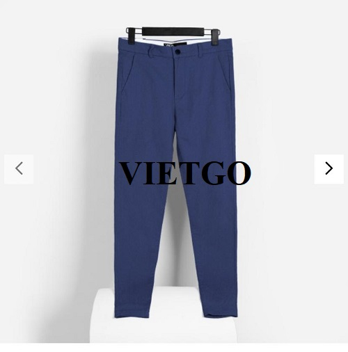 Opportunity to export Kaki pants for a famous fashion brand in Ghana