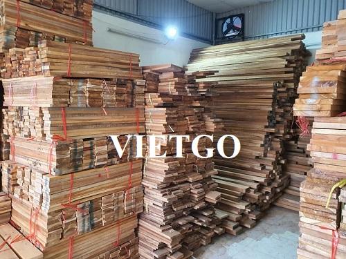 Cơ hội xuất khẩu 15 container 20ft gỗ teak xẻ hàng tháng sang thị trường Ấn Độ