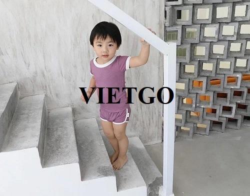 Cơ hội cung cấp quần áo trẻ em cho doanh nhân đến từ Chile