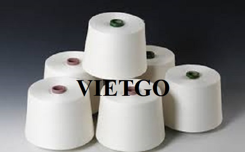 Opportunity to export yarn products monthly for a large corporation from China
