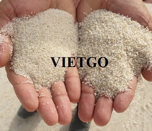 Opportunity to export 50,000 tons of Silica sand monthly to Malaysia market