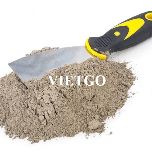 Opportunity to export 80,000 tons of cement to the Philippines market