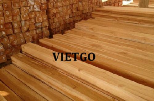 Cơ hội xuất khẩu 10 container 20ft gỗ teak xẻ hàng tháng sang thị trường Ấn Độ