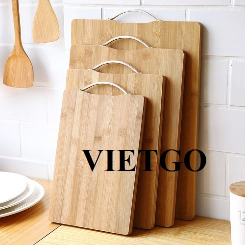 Opportunity to export bamboo cutting board of all kinds to the German market