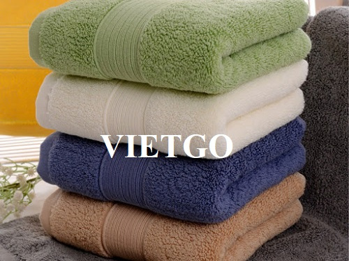 Opportunity to export cotton towels to the Romanian market