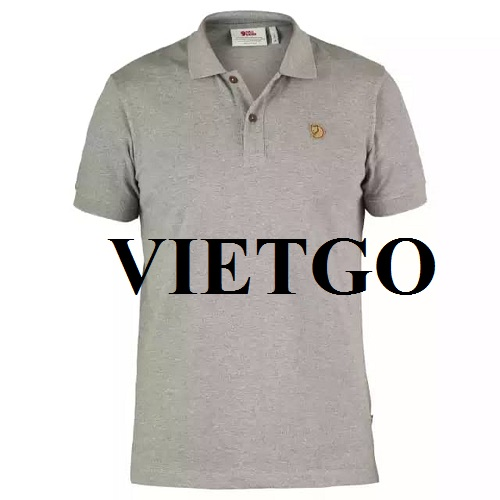 Opportunity to export men's polo shirts to Mauritania market