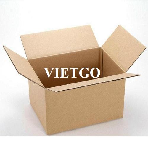 Cơ hội xuất khẩu thùng carton sang thị trường Trung Quốc