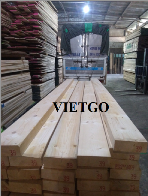 Opportunity to export 10 pine timber containers 40ft every 3 months to the Sri Lankan market