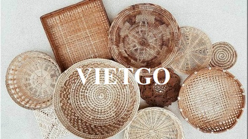 A German businessman is looking for a supplier of bamboo and rattan baskets of all kinds