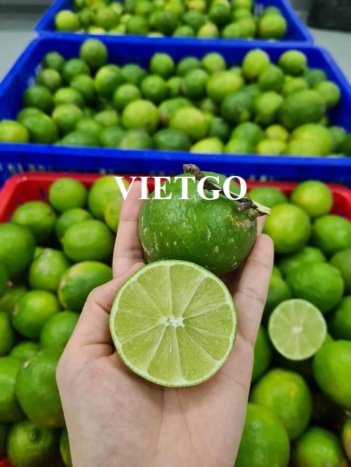 Cơ hội xuất khẩu Chanh xanh sang thị trường Oman