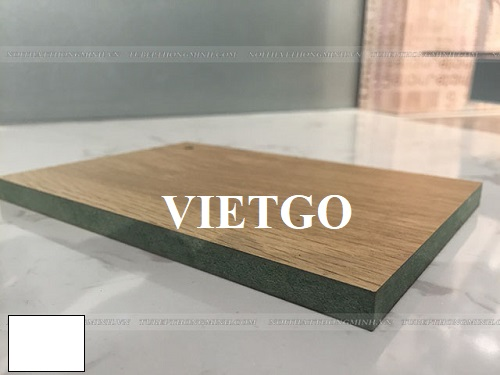 Opportunity to export  laminate faced waterproof MDF boards to the Indian market.