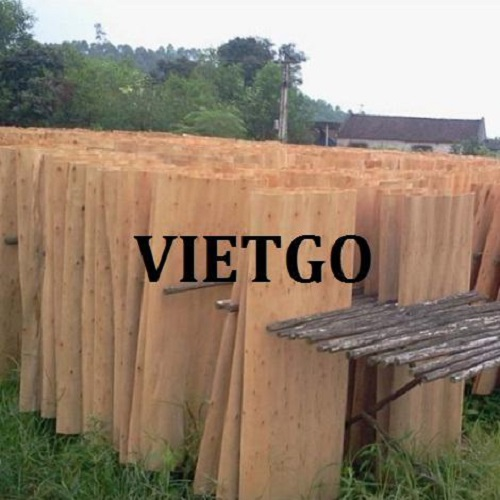 Opportunity to export veneer to the Chinese market