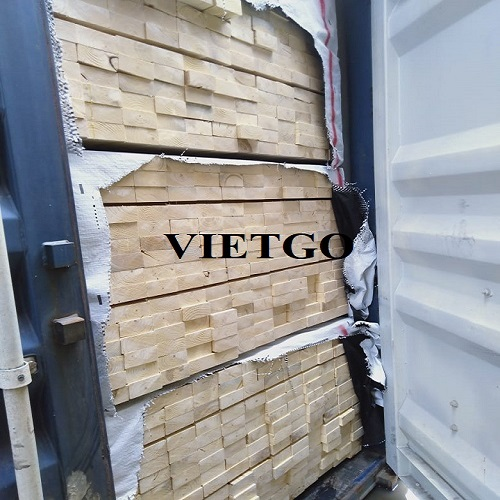 Cơ hội xuất khẩu 4 container 40ft gỗ thông xẻ hàng tháng sang thị trường Ấn Độ