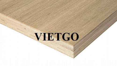 (Gấp) Cơ hội xuất khẩu gỗ dán sang thị trường Mỹ